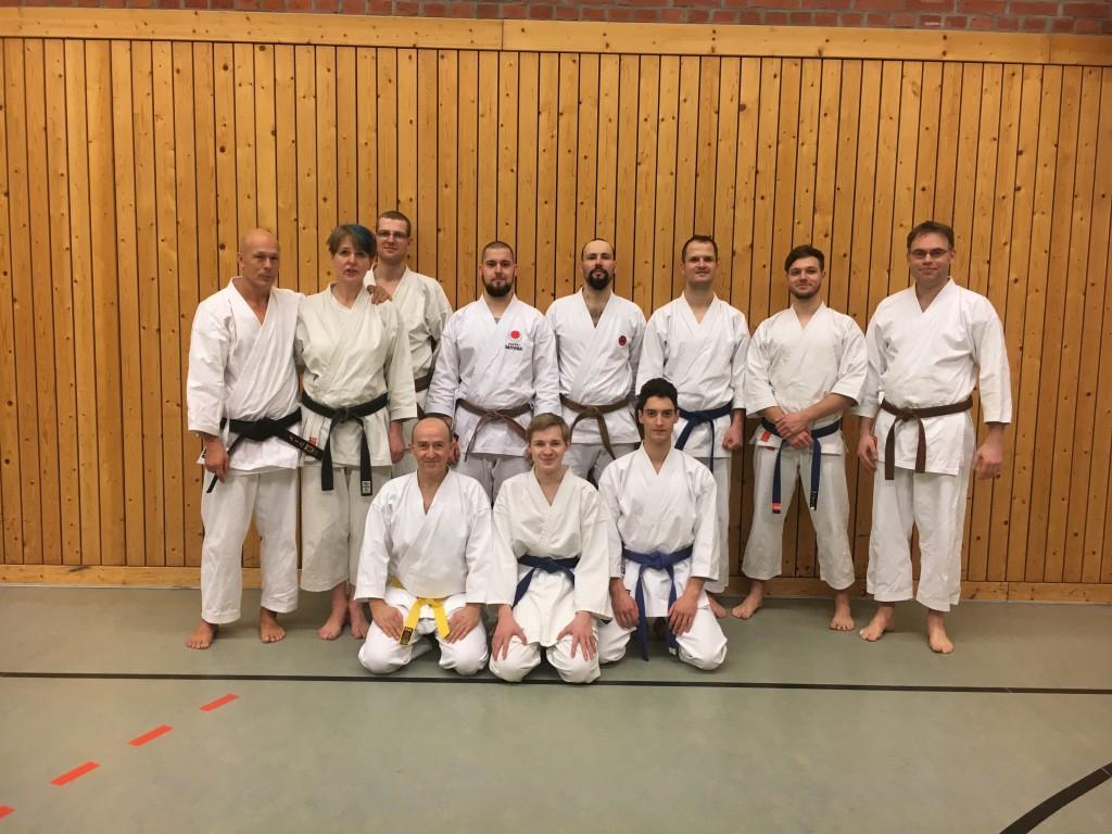Training mit Sensei Mehnert